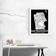 San Francisco Urban Poster