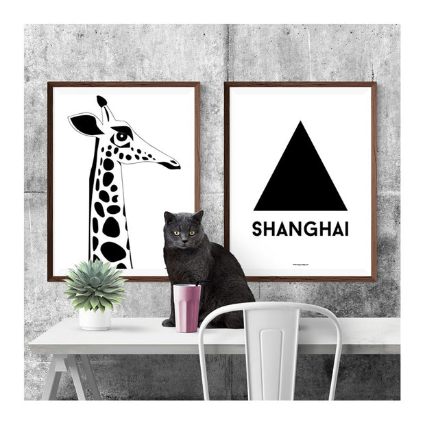 Shanghai Triangle Poster