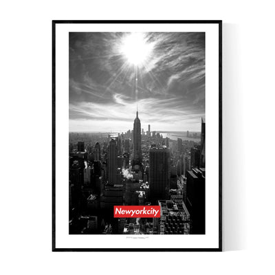 Sup New York City Poster