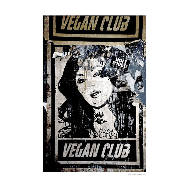 Vegan Club Poster