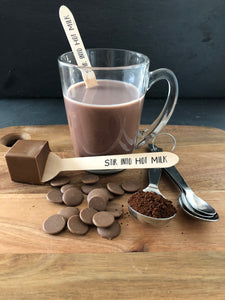 Cappuccino Hot Chocolate Stirrer