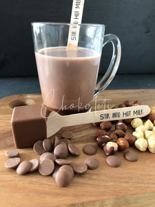 Hazelnut Hot Chocolate Stirrer