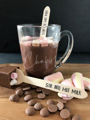 Hot Mallows Hot Chocolate Stirrer
