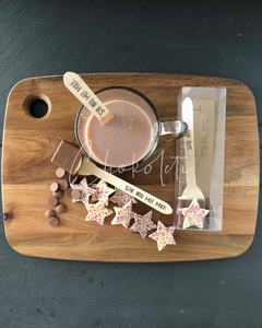 Just For Kids Hot Chocolate Stirrer