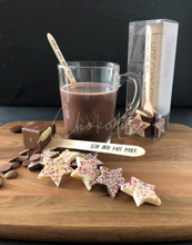 Load image into Gallery viewer, Just For Kids Hot Chocolate Stirrer