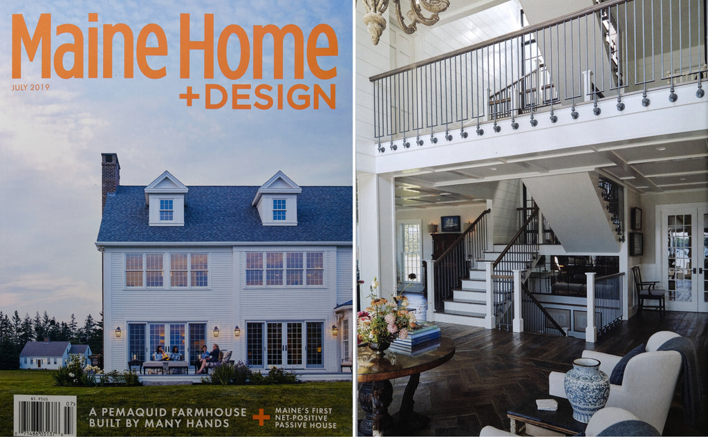 Maine Home + Design - Custom Handrail