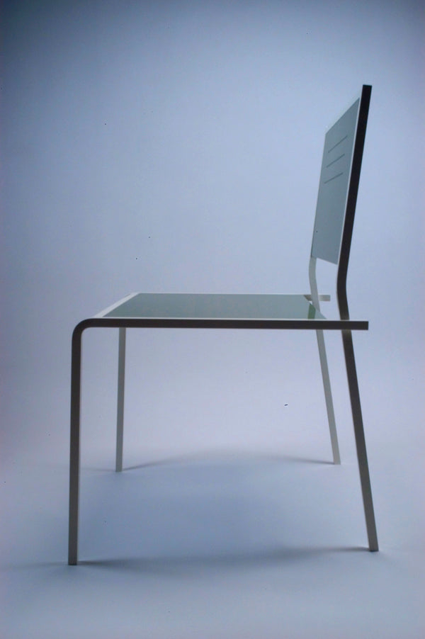 Custom Steel & Aluminum Chair, forged and fabricated