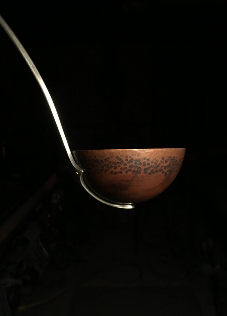 Forged Copper and Stainless Steel Ladle