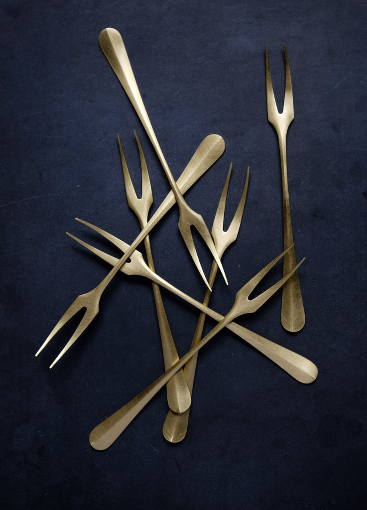 Brass Serving Fork