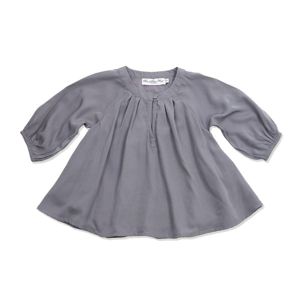 How to kiss A frog - Electra Blouse Dark Grey