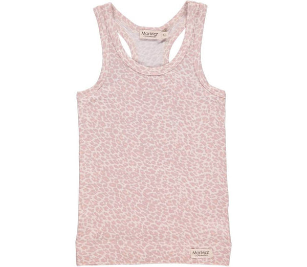 Leo Tank Leopard Faded Rose