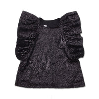 Bling Top Black Sequins