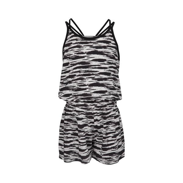 Jumpsuit black and white
