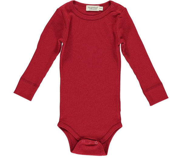 MarMar Copenhagen - Plain Body LS Modal Chili Pepper