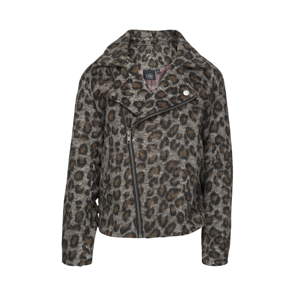 Jacket Grey Leopardprint