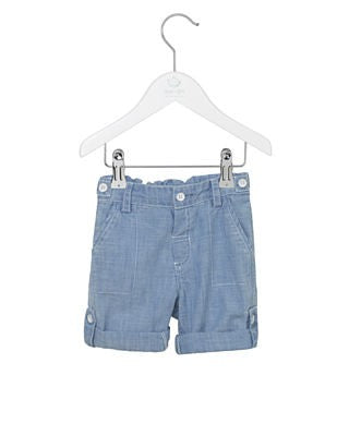 Denim Shorts 3/4 längd