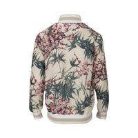 Bomber Jacket Bird Print