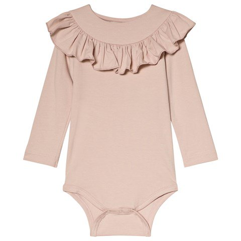 Bibbi Body Sheer Rose MarMar Copenhagen Babykläder
