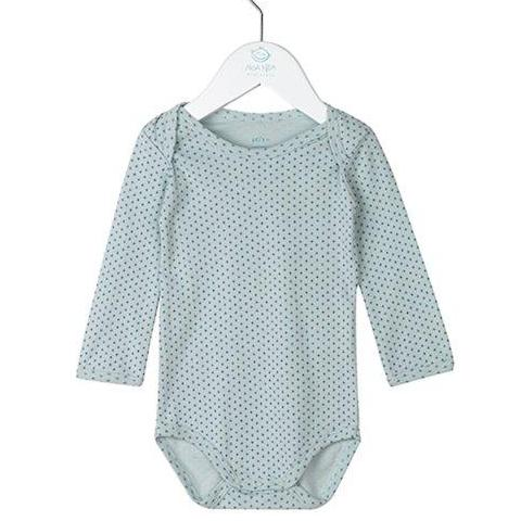 Boy Basic Striped Body Cloud Blue