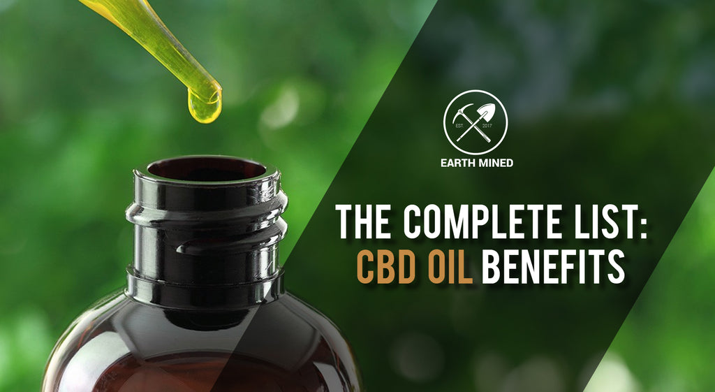 The Complete List of CBD Oil Benefits