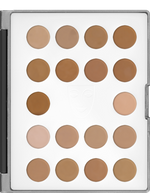HD Micro Foundation Cream Mini-Palette - 18 Color