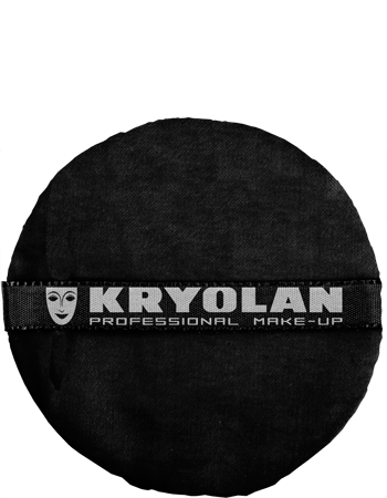 "Kryolan Premium Powder Puff 4"" Art. 1720 Pink"