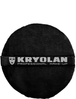 "Kryolan Premium Powder Puff 4"" Art. 1720 Black"