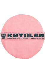 "Kryolan Premium Powder Puff 3.25"" Art. 1718 Black"
