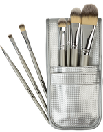 7-Piece Brush Set in Silver Pouch 08314/00