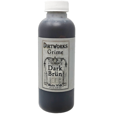 Dirtworks Grime Spray Dark Brun