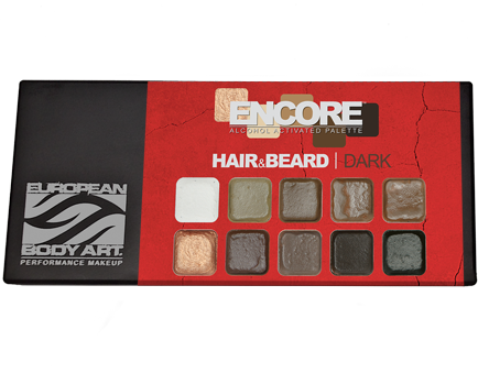 Encore Hair & Beard Dark Palette