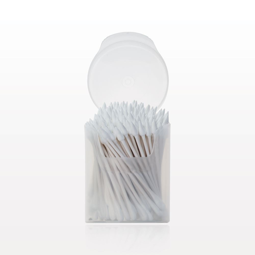 Eye Tees Point/Flat Oval Tip Swab in Container