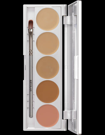 HD Micro Foundation Cache 5-Color Palette Art. 19015 TNN