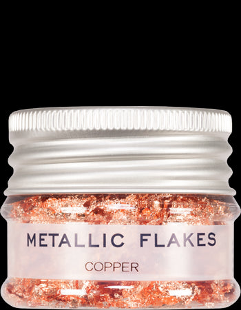 metallic flakes copper