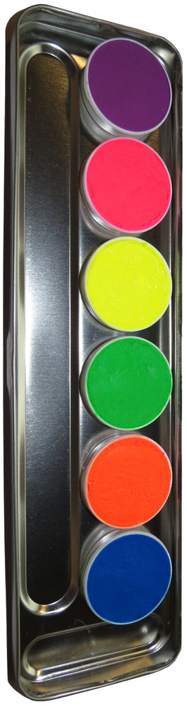 Kryolan UV Compact Powder Palette 5-Color Art. 5196/01