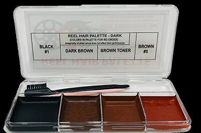 Reel Creations Dark Hair Palette