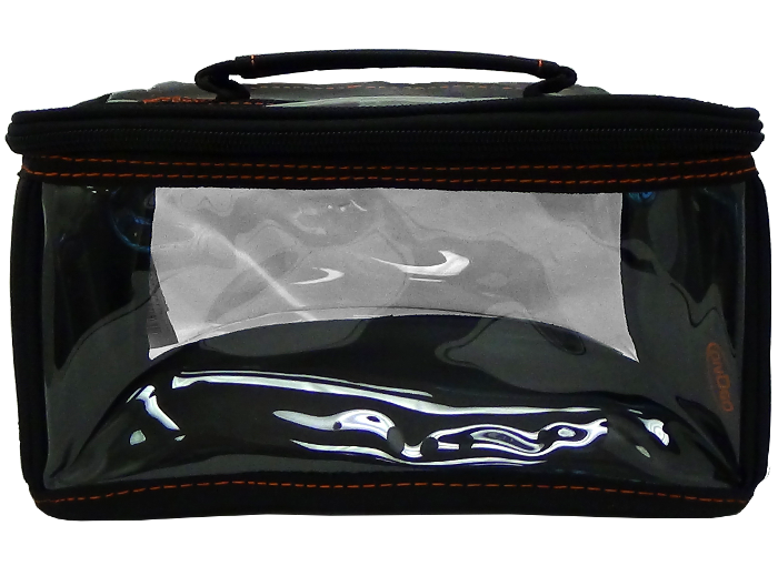OnDGo 114 Cosmetic Travel Bag Clear/Black Small