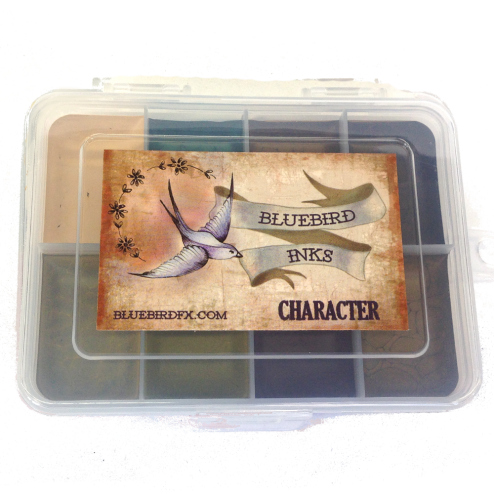 Bluebird Transparent Palette