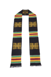Traditional Kente Cloth Graduation Stole
