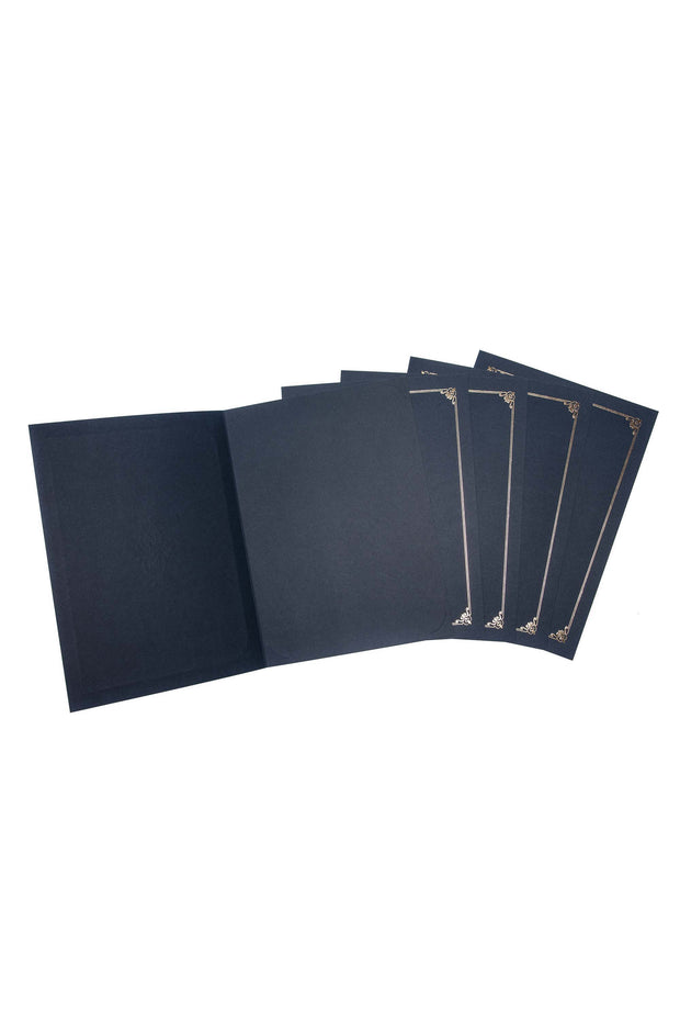 Embellished Certificate and Document Cover - 5 Pack