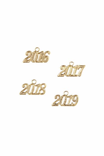 Graduation Tassel Year Charm