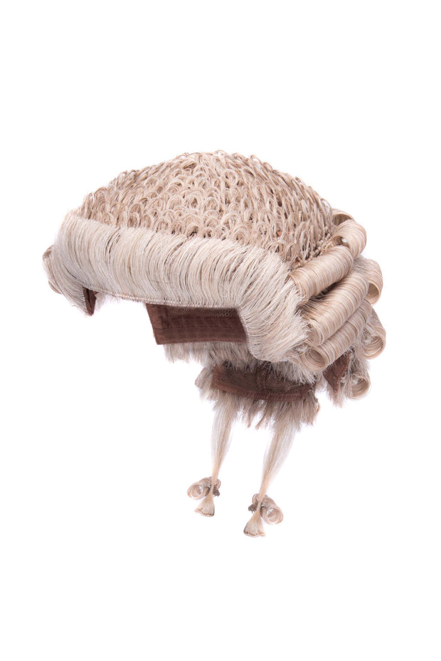 Traditional Barrister's Wig - Grey & White
