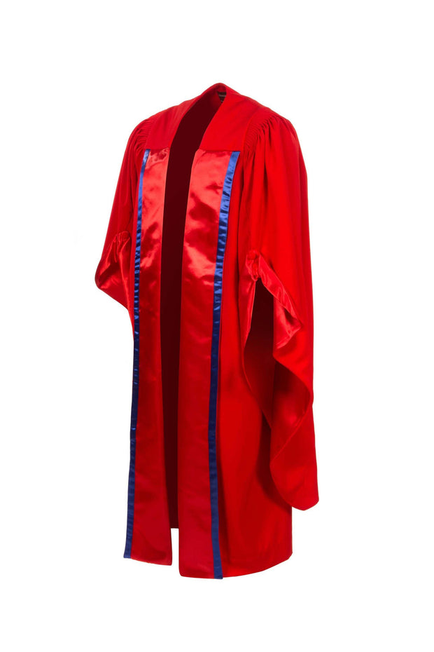 UK PhD Doctoral Gown, Hood and Bonnet