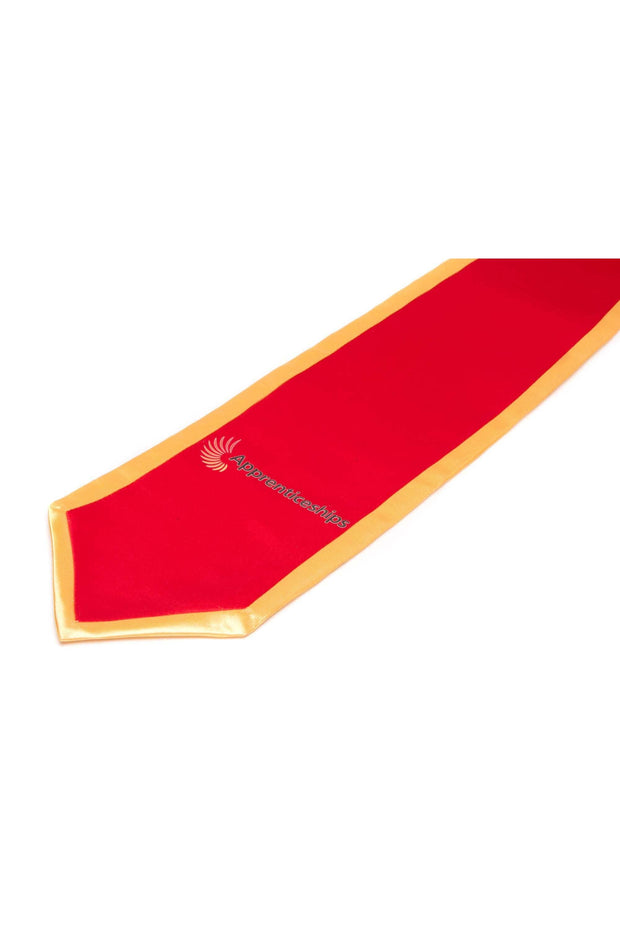Deluxe Graduation Stole with a Half Inch Binding