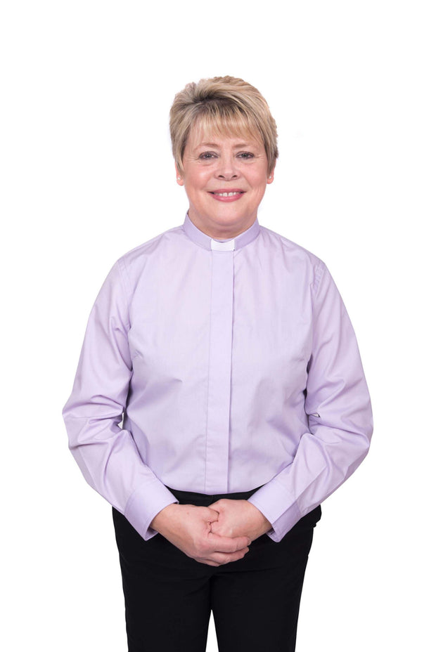 Reliant Ladies Long Sleeved Clergy Shirt