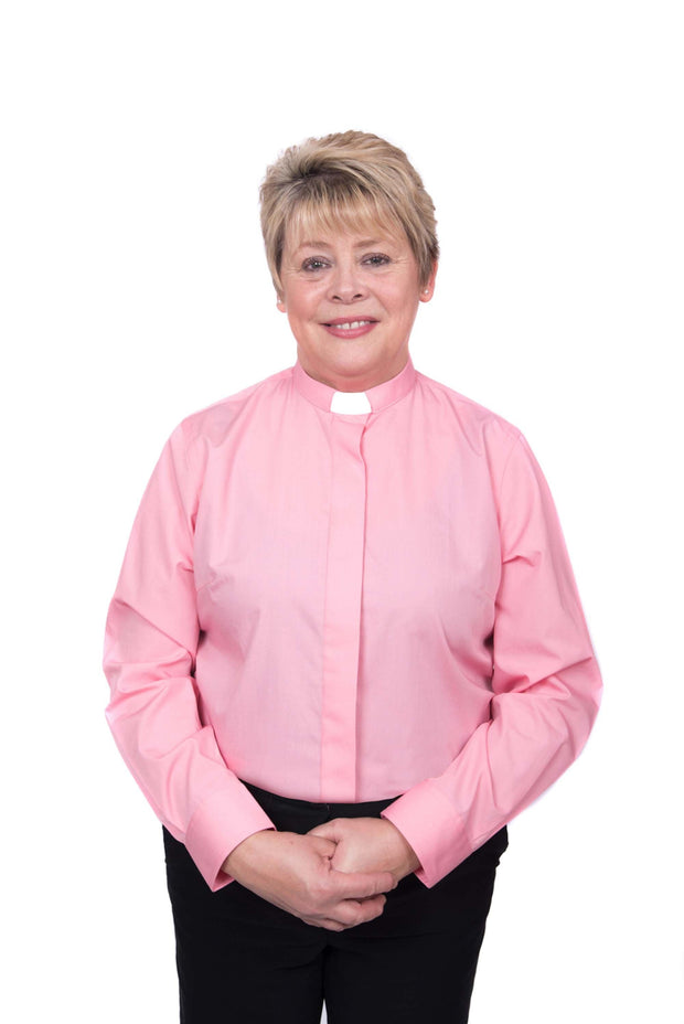 Ladies Long Sleeved Clergy Shirt