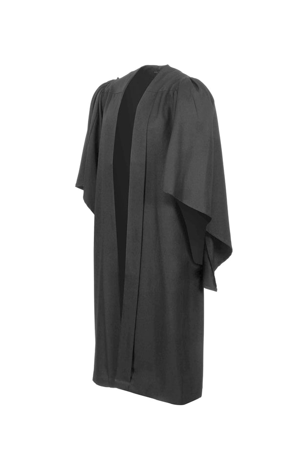 Clearance -  Dark Grey Bachelor Gown