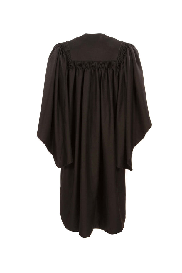 Fluted Bachelor Graduation Gowns