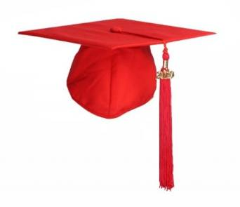 Clearance -  Childrens Elasticated Mortarboard