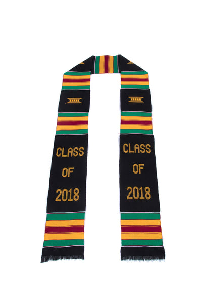 Clearance - Class of 2018 Traditional Kente Stoles